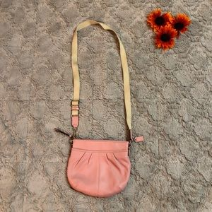 Coach Baby Pink Crossbody Bag